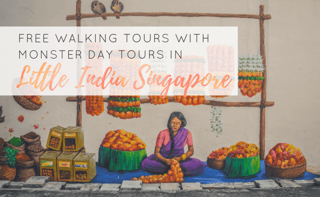 Free Walking Tours in Little India Singapore with Monster Day Tours