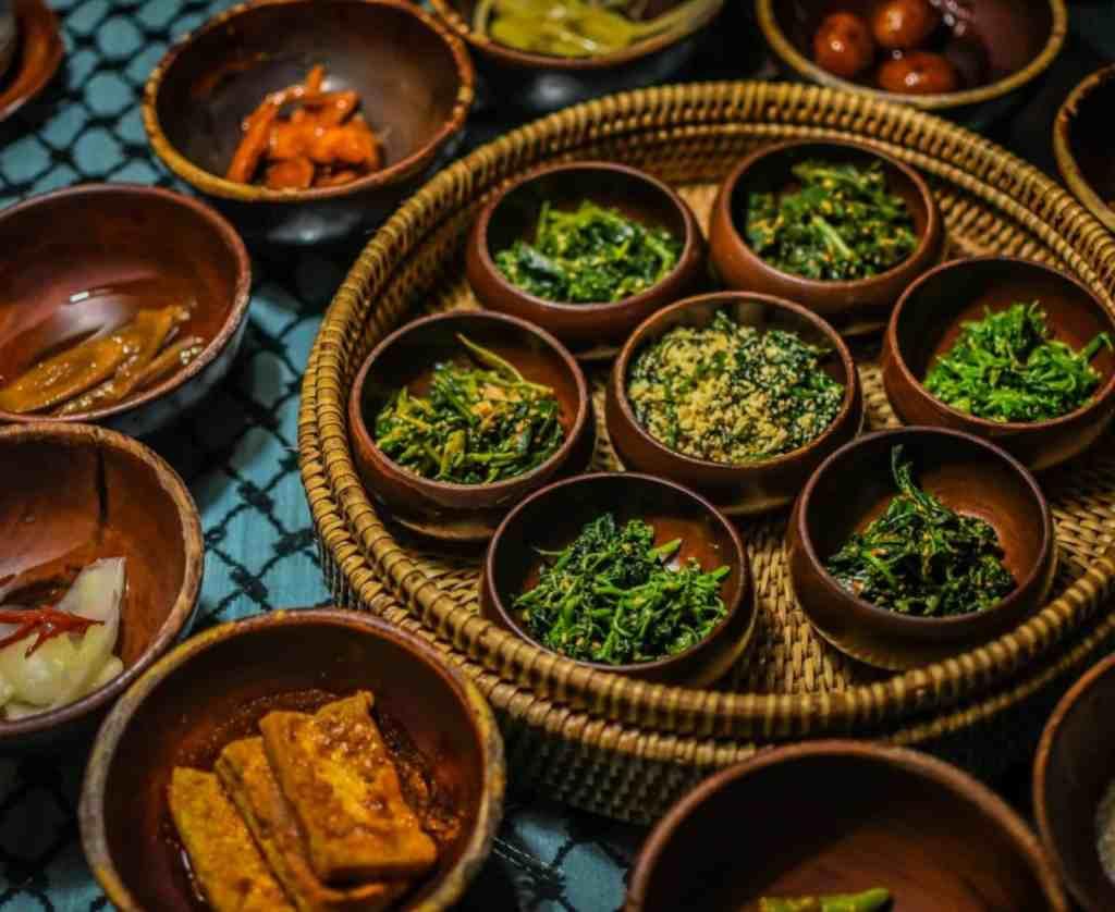sanchon vegan temple food restaurant