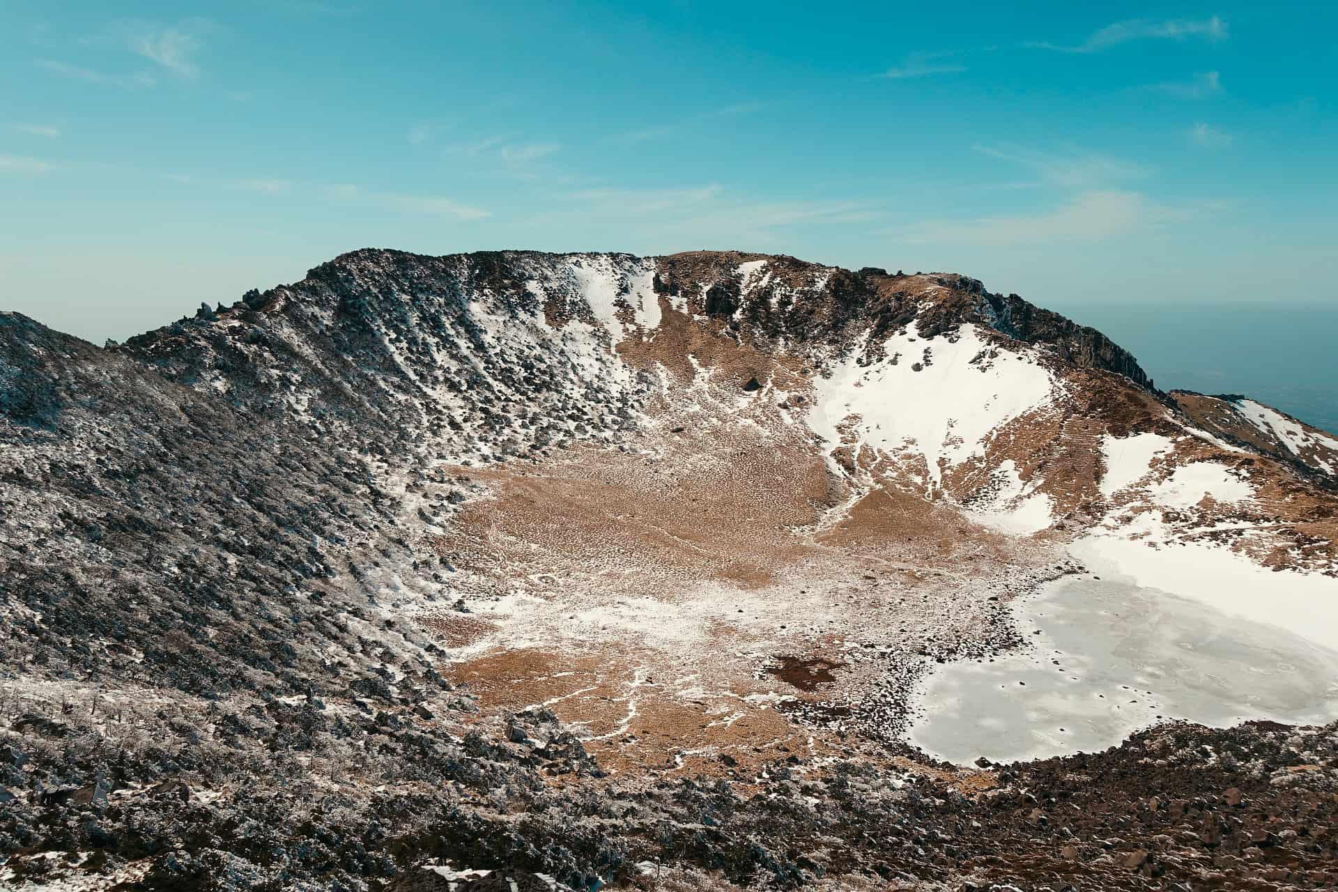 Jeju Island in winter