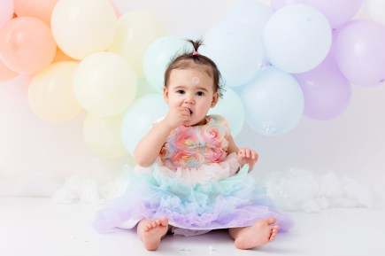 1st birthday studio photo shoot