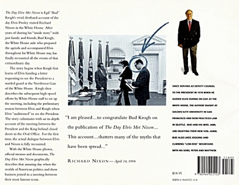 Back Cover of Bud Krogh's book
