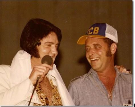 Elvis and Felton Jarvis