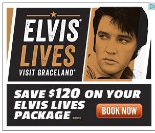 Graceland Ad Elvis Lives