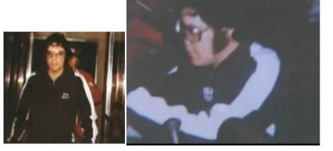 Elvis wearing DEA Logo 2 small photos