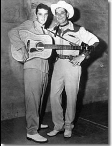 Elvis 1955 in Texas