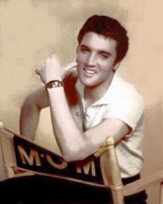 Elvis photo from BlueRose