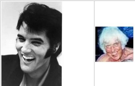 Jesse and Elvis comparison sample front page