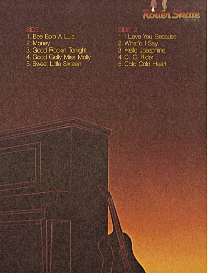 The Killer, The King list of songs on back cover
