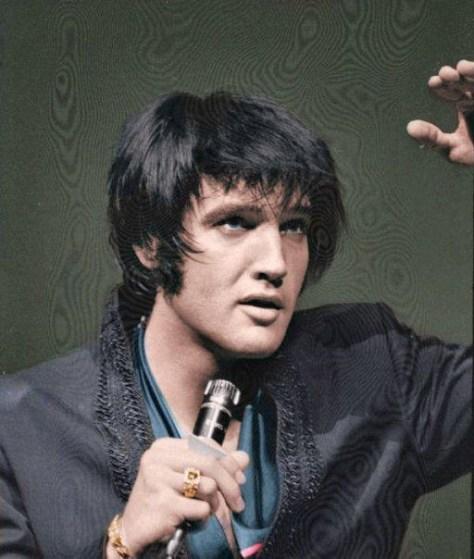 Elvis in vegas lst show
