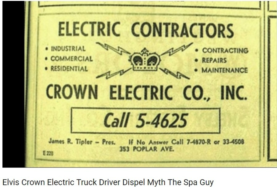 Elvis Crown Electric Truck Driver Dispel Myth The Spa Guy YouTube