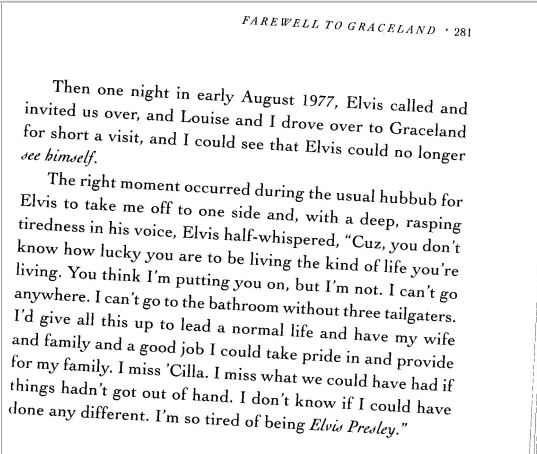 Gene Smith's book visit to Graceland