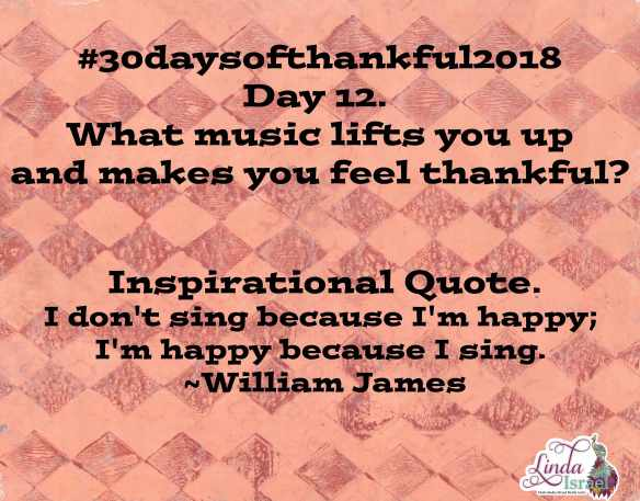 Day 12 of 30 days of Thankful 2018