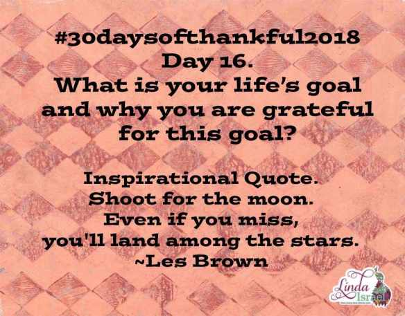 Day 16 of 30 Days of Thankful 2018