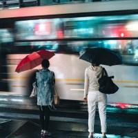 Neon Rain | Poem | Linda J Wolff