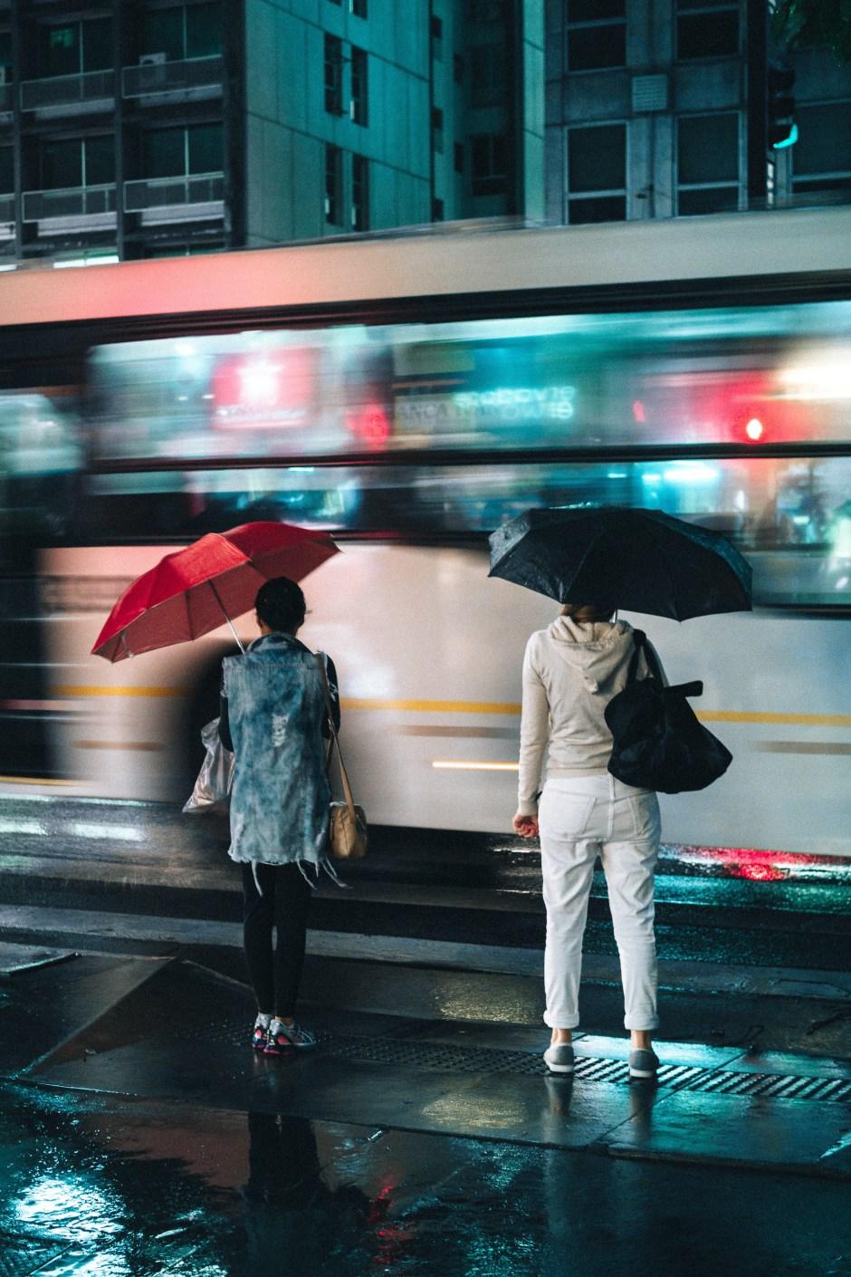 Neon Rain | Poem by Linda J Wolff