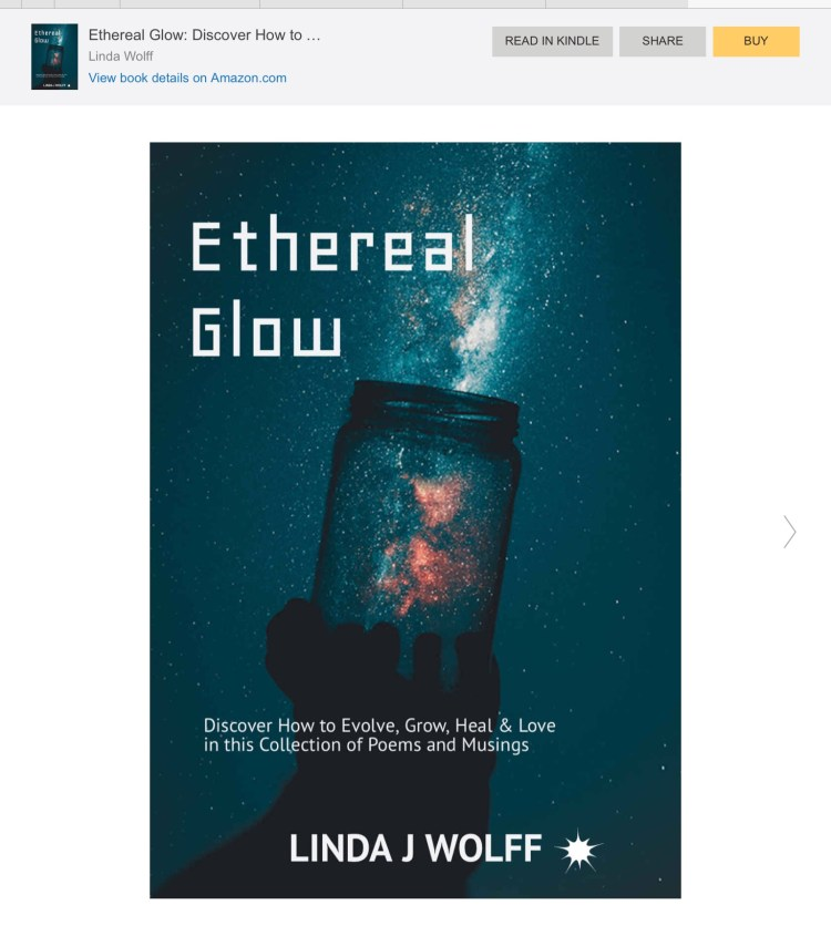 Ethereal Glow poetry book image