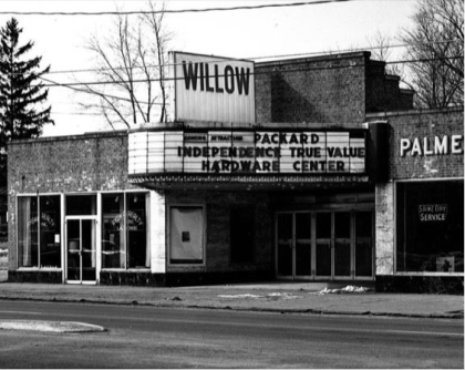 Necking in the Willow Theater