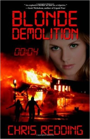 Blonde Demolition - thriller mystery by Chris Redding