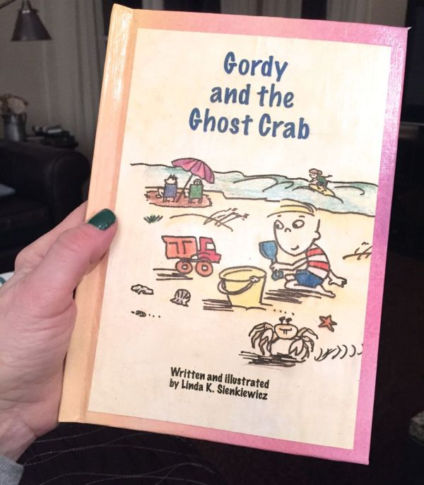 Mockup of Gordy and the Ghost Crab