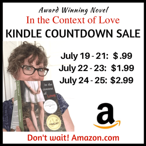 Kindle Countdown Sale – In the Context of Love!