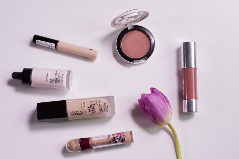 Products used on my face