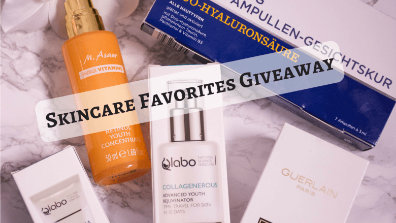 Skincare Favorites Giveaway