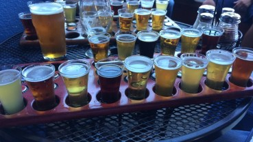 beer tasting at russian river