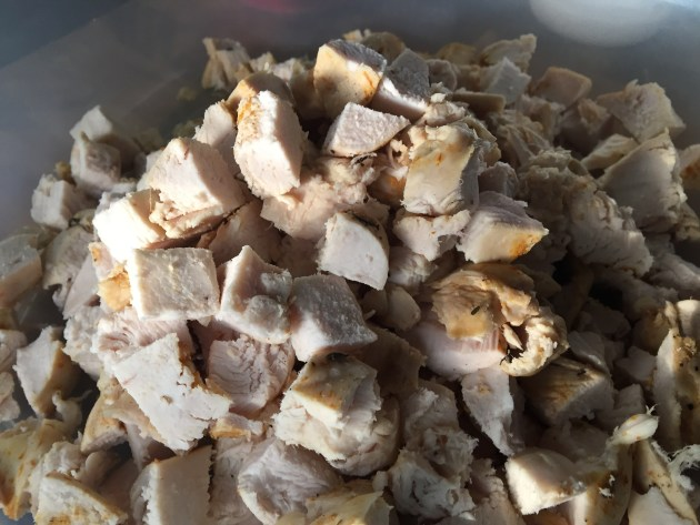 Diced Roasted Chicken