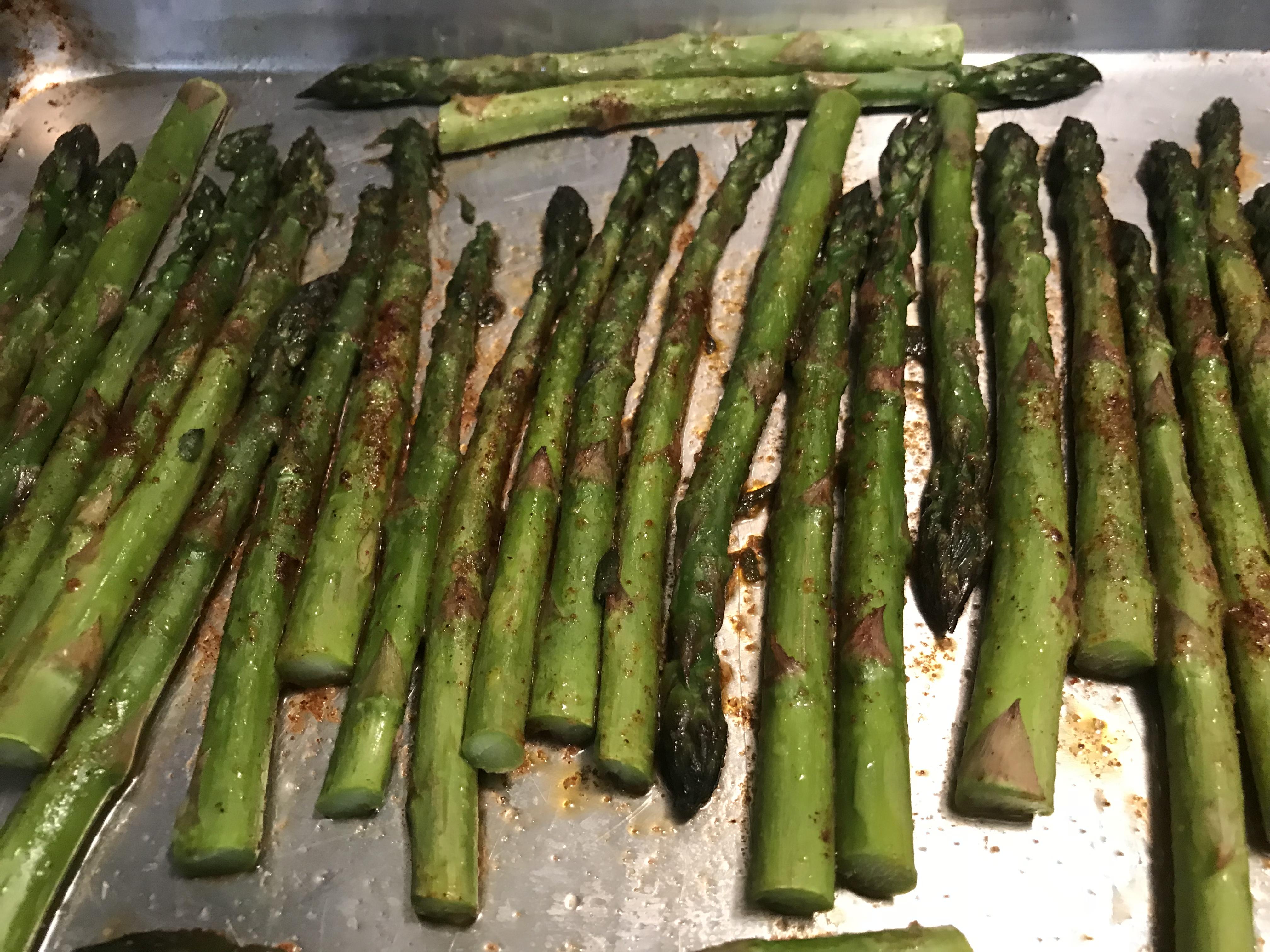 Mocha Chili Spiced Roasted Asparagus (3)