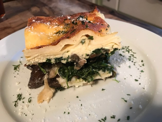 Wid Mushroom And Spinach Lasagna (1)