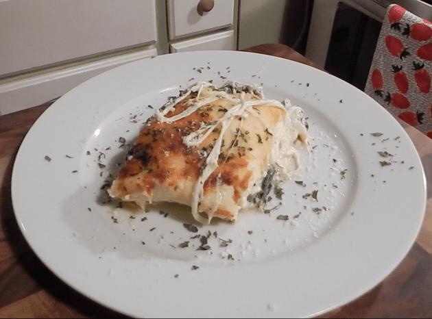 Wild Mushroom And Spinach Lasagna (9)
