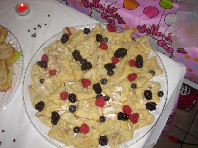 Mini Mascarpone Pastries