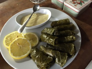 Stuffed Grape Leaves With An Egg-Lemon Sauce.jpg