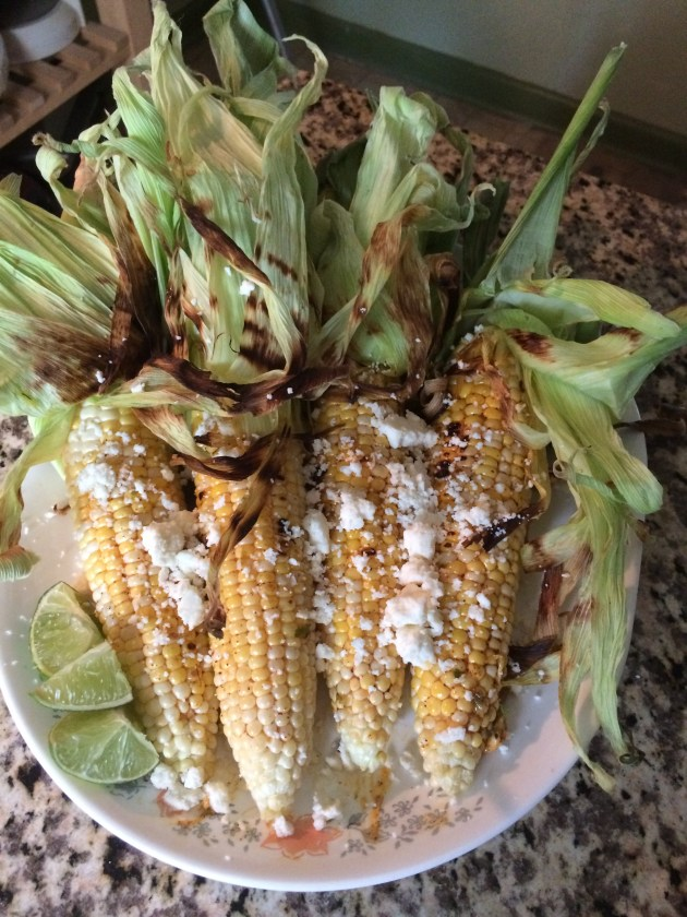 Mexican Style Grilled Corn On The Cob