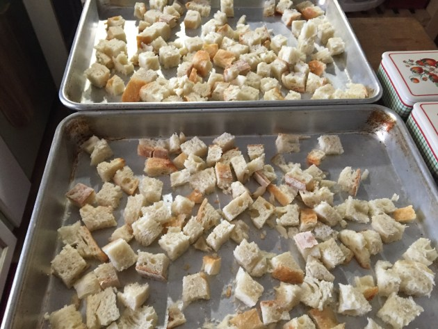 Homemade Ciabatta Croutons (2)