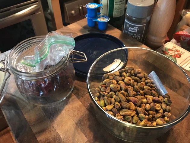 Cranberries And Pistachios