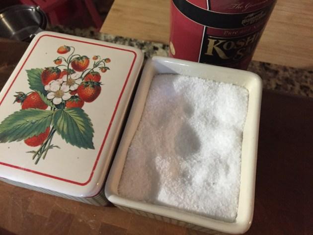 Kosher Salt And Freshly Ground Black Pepper
