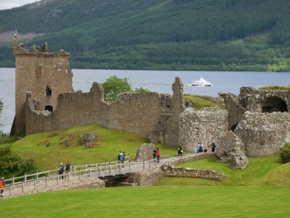 Urquhart Castle view