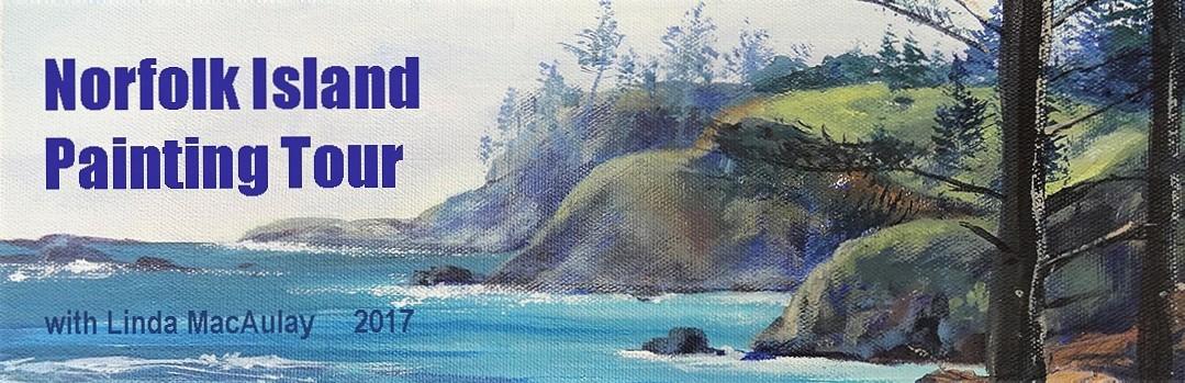 Norfolk Island Painting Tour