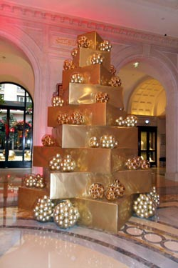 Christmas At George V Frenchless In France