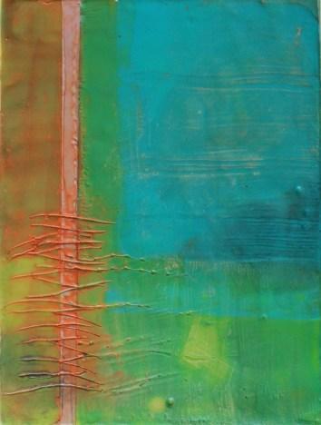 Encaustic Painting-Linda Lenart McNulty