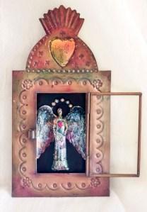 Linda Lenart McNulty-Encaustic Shrine I (555x800)