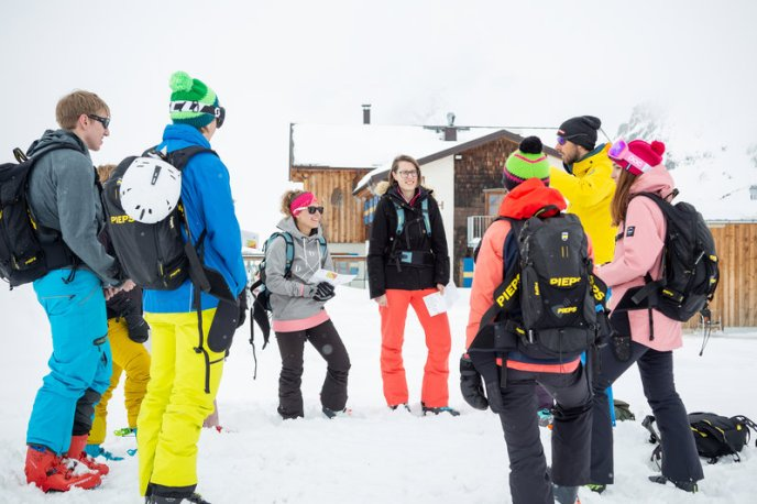 Skitouren-Schnuppertag mit Linda Meixner (c) Andreas Haller - Montafon Tourismus GmbH (17)
