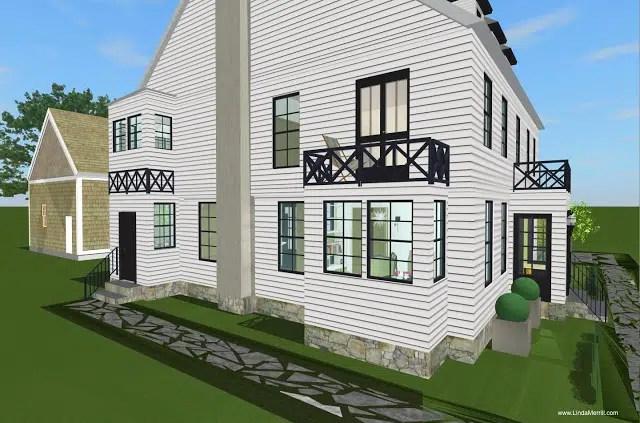 Linda's Dream House: 2nd Floor Plan and Master Bathroom ... on