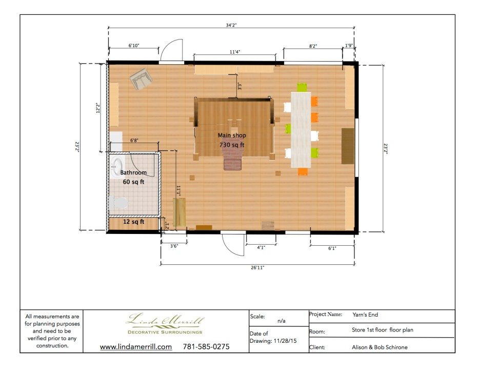 YE floorplan