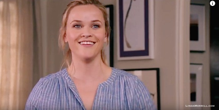 Home Again movie Reese Witherspoon in living room