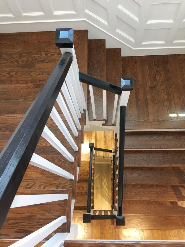 Stair case Hingham Church Conversion