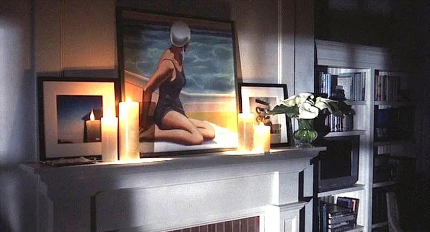 Something's Gotta Give movie bedroom set decoration artwork R. Kenton Nelson