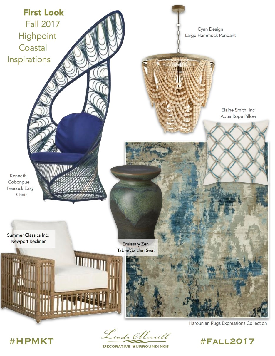 Coastal inspired furnishings from 2017 HPMKT