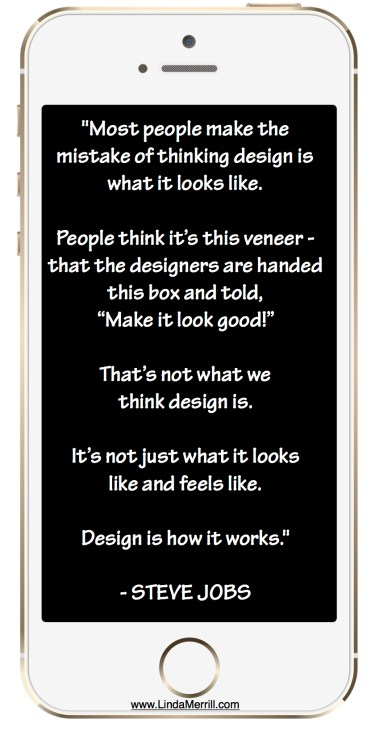 Form vs. Function Steve Jobs on Design Apple iPhone